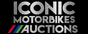 Iconic Motorbike Auctions Footer Logo